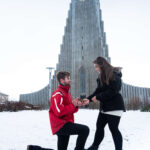 secret proposal hotoshoot reykjavik iceland in the winter