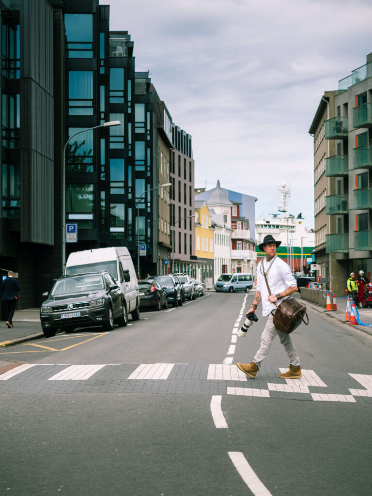 city photoshoot in reykjavik by local photogrpaher iceland city photo walk