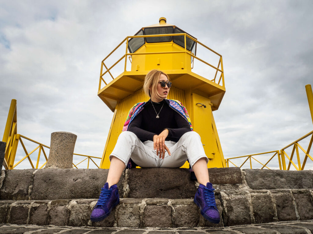sitting poses for solo travelers in iceland beginners guide by local photographer