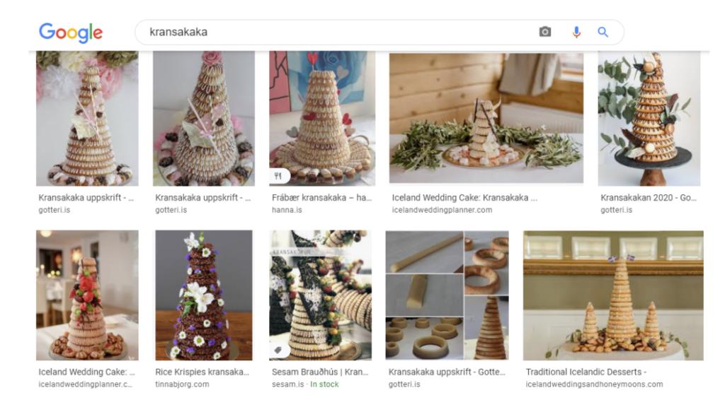 google image of icelandic wedding cake traditional recipe